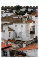 Obidos View VI by FilipaGrilo