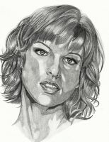 milla jovovich by cssp