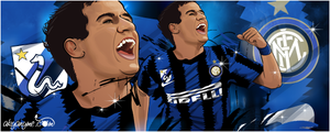 Philippe Coutinho Inter Milan by akyanyme