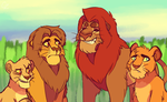 TLK - not simba's kids by Caroline263