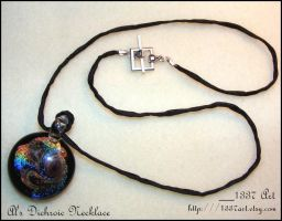 Al's Dichroic Necklace by 1337-Art