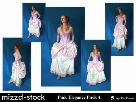 Pink Elegance Pack 4 by mizzd-stock