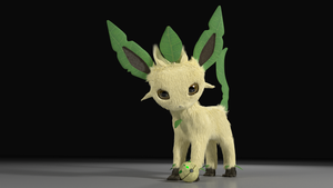 # 470 Leafeon by alewism