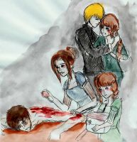 Injured Gale Hawthorne by vampirebangs