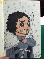 Jon Snow by grizlyjerr