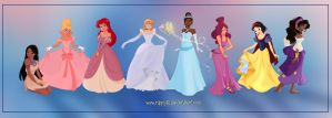 Disney Girls by Nippy13