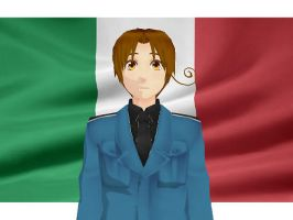 MMD Hetalia model:Italy by Ash080897
