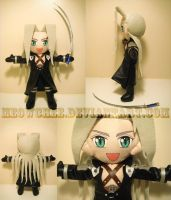 Cute Sephiroth Plush by Meowchee