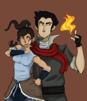 Makorra by Tissuecoffee