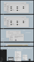 After Light Gold Theme Win10 Anniversary Update by Cleodesktop
