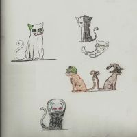 Arkham kitties by mirkwoodprincess123