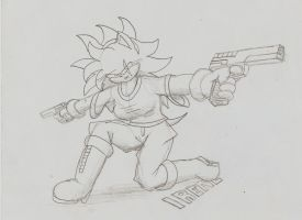 Irene - Pistol Akimbo by viennacalling92