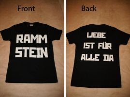 Rammstein LIFAD shirt by thessias