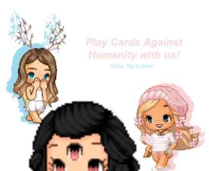 Play Cards Against Humanities With Us~ [Offline] by dqisyy