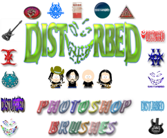 Disturbed Photoshop Brushes by graphicjunkie
