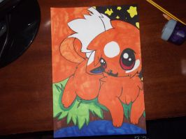 :First copic attempt : Kinka: by ToxiicClaws