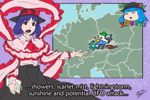 Scarlet Weather Rhapsody hits Europe this week by Dave-Shino