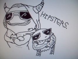 HIPSTERS by CartoonistfromHell