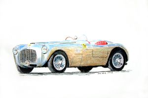 Ferrari 155 by johnwickart