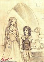 [ASOIAF] The Wolf Sisters by fayrinn