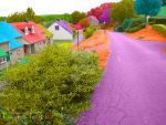 Our Colourful Neighbour Hood by Fatooome