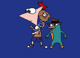 Phineas and Perry by Tia445