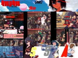 Kill la Kill Osu! Skin [RAR] by Allen-WalkerDGrayMan