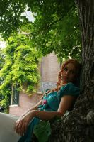 Under a Tree 31 by MarjoleinART-Stock