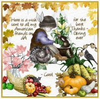 Thanksgiving Card by cazcastalla