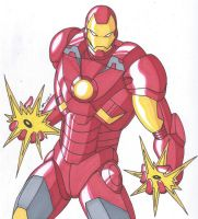 Iron Man Mark 7 Armor by RobertMacQuarrie1