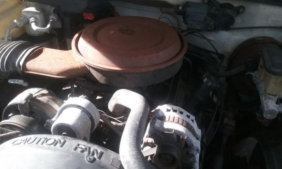 The 350 V8 Motor to a Chevy 1500 by TranssexualJesus