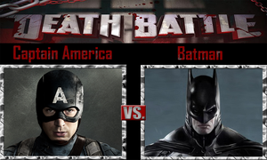 Captain America vs Batman by SonicPal