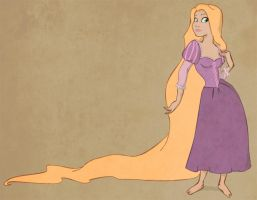 Rapunzel by matthoworth