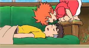 .:iscribble: Wake Up Sosuke:. by Patsuko