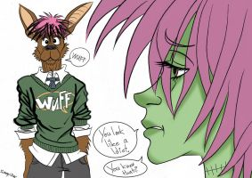 That's my Idiot by Sunny-X-Ray