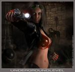 UNDERGROUNDLEVEL by supermarioART