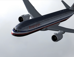 AA 777: Beauty of the skies by tbggtbgg