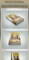 Book Cover Display Mockup by idesignstudio