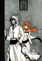 Bleach - Don't go... by KeikoWolfgirl