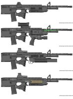 GSR49 Assault Rifle Variants by Marksman104