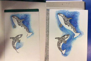 WIP Orcas by wolftriangle