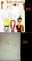 Jally Cosplay 2007 and 2011 by NintendoGal55