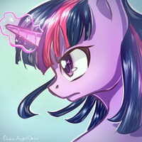 Sketch - Twilight Sparkle by ChaosAngelDesu