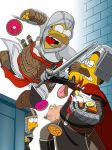 Homer Assassins Creed by khaosmon
