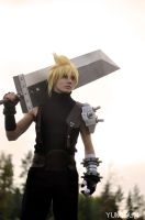 Ex-SOLDIER Cloud Strife by Resider3819