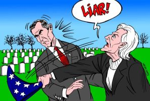 The lie that KILLED my son by Latuff2