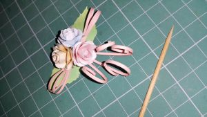 Mini roses papercrafts by bslirabsl