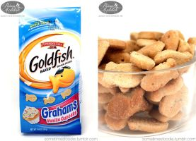 Goldfish Grahams by chat-noir