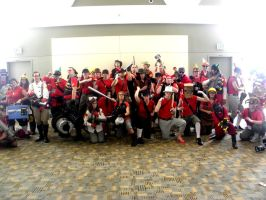 Otakon 2011 - Team Fortress 04 by mugiwaraJM