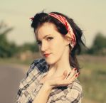 pin up girl by WildOrchidRain